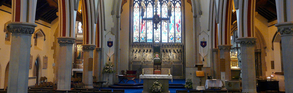 The Catholic Church across Cheshire and Shropshire and parts of Greater Manchester, Merseyside and Derbyshire.